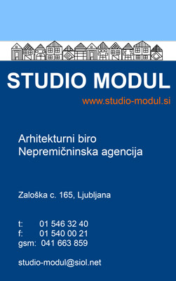 Studio Modul vizitka